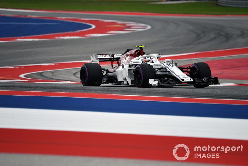 9. Шарль Леклер, Alfa Romeo Sauber C37, 1:34.420