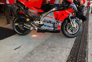 Ducati Desmosedici GP19 mit neuer Hinterrad-Felge