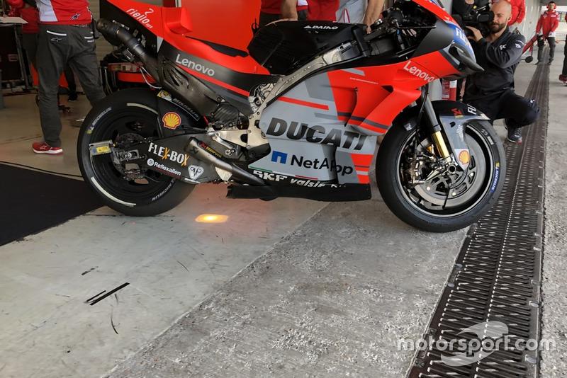 Nueva llanta trasera de Ducati