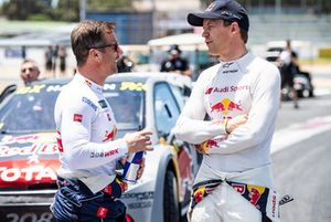 Sébastien Loeb, Team Peugeot Total, Mattias Ekström, EKS Audi Sport