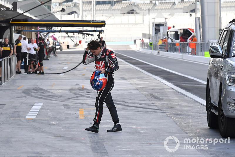 Pietro Fittipaldi, Haas F1 Team, ritorna ai box