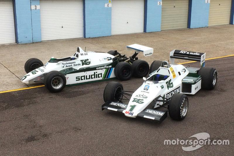 Williams FW08B (6 ruedas) y FW08C (4 ruedas)