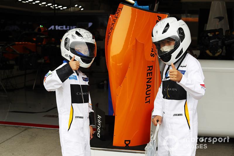 Genç bir McLaren taraftarı