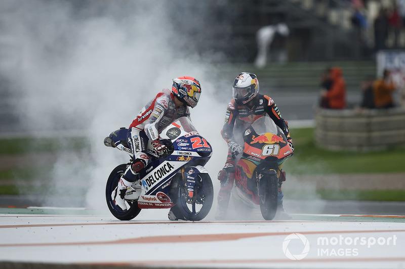 Fabio Di Giannantonio, Del Conca Gresini Racing Moto3, Can Oncu, Red Bull KTM Ajo