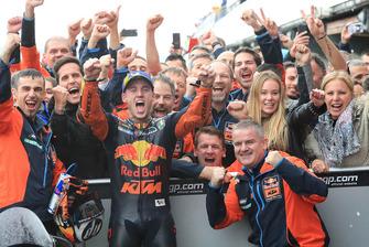 Derde plaats Pol Espargaro, Red Bull KTM Factory Racing