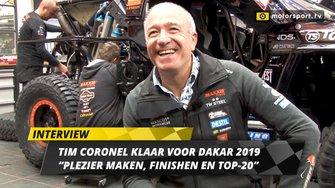 Tim Coronel over de Dakar Rally 2019