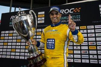 Juan Pablo Montoya ganador de Race of Champions
