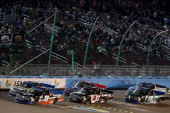 Harrison Burton, Kyle Busch Motorsports, Toyota Tundra DEX Imaging, Noah Gragson, Kyle Busch Motorsports, Toyota Tundra Safelite AutoGlass