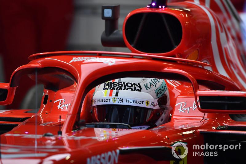 2018: Vettel hace doblete con Ferrari y suma su sexto mundial