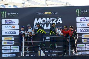 Valentino Rossi et Carlo Cassina (vainqueurs), Teemu Suninen et Marko Salminen (deuxièmes), Roberto Brivio et Luca Brivio (troisièmes)
