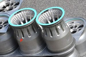Mercedes F1 AMG Bare wheel rim