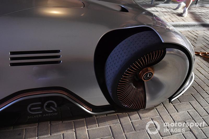 Le concept Mercedes-Benz, EQ Silver Arrow