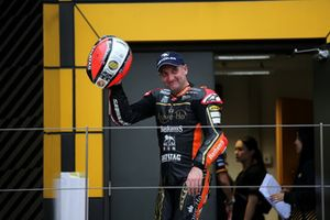 Podium: second place Michael Rutter, Aspire-Ho by Bathams Racing, Honda