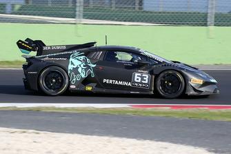 Lamborghini Huracan Super Trofeo Evo #63, Autovitesse: Cedric Leimer, Laurent Jenny