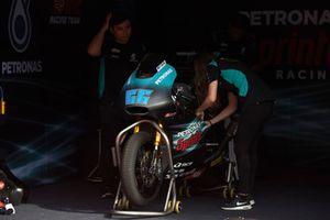 Niki Tuuli, SIC Racing Team, bike