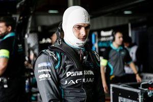 Nelson Piquet Jr., Panasonic Jaguar Racing in the garage