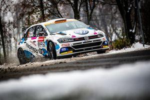 "Starkes Ergebnis beim Debüt des Polo GTI R5 in Kundenhand: Vojtěch Štajf/Karel Janeček fuhren beim ""Prager Rallysprint"" Anfang Dezember 2018 auf Rang fünf"