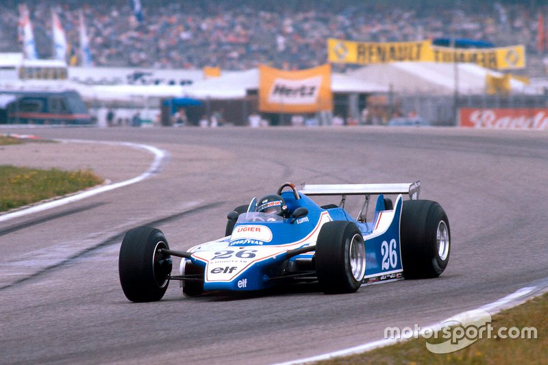 1980 Jacques Laffite, Ligier