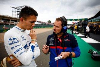 Alexander Albon, Toro Rosso, op de grid