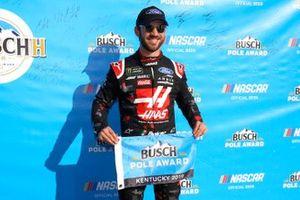 Pole Daniel Suarez, Stewart-Haas Racing, Ford Mustang Haas Automatio
