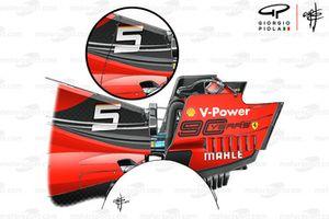 Ferrari SF90, engine cover