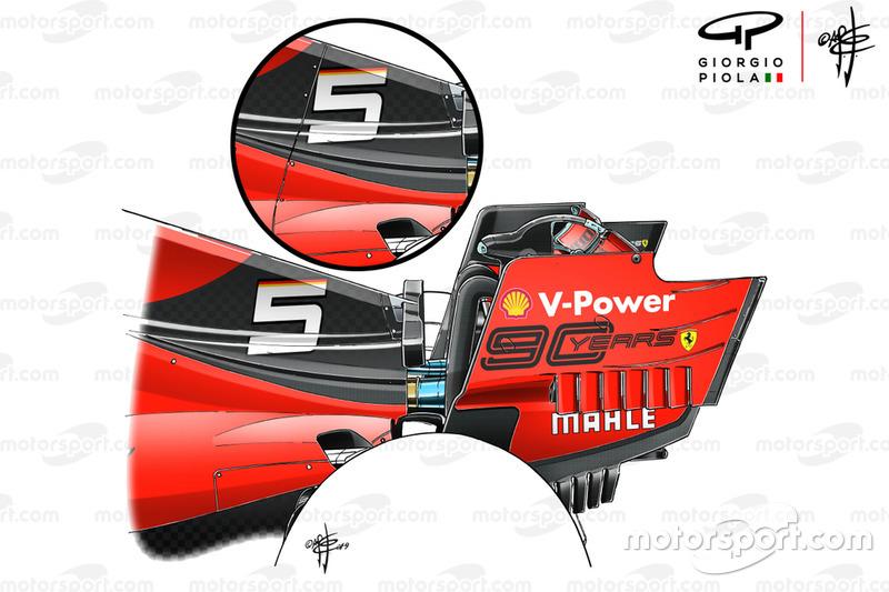 Ferrari SF90, cofano motore