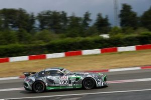 #190 Team Mathol Racing Mercedes AMG-GT4: Scott Preacher, Henning Cramer