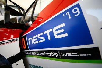 Detail, Jari-Matti Latvala, Miikka Anttila, Toyota Gazoo Racing WRT Toyota Yaris WRC