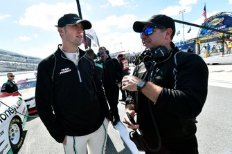 Austin Cindric, Team Penske, Ford Mustang MoneyLion and Brian Wilson