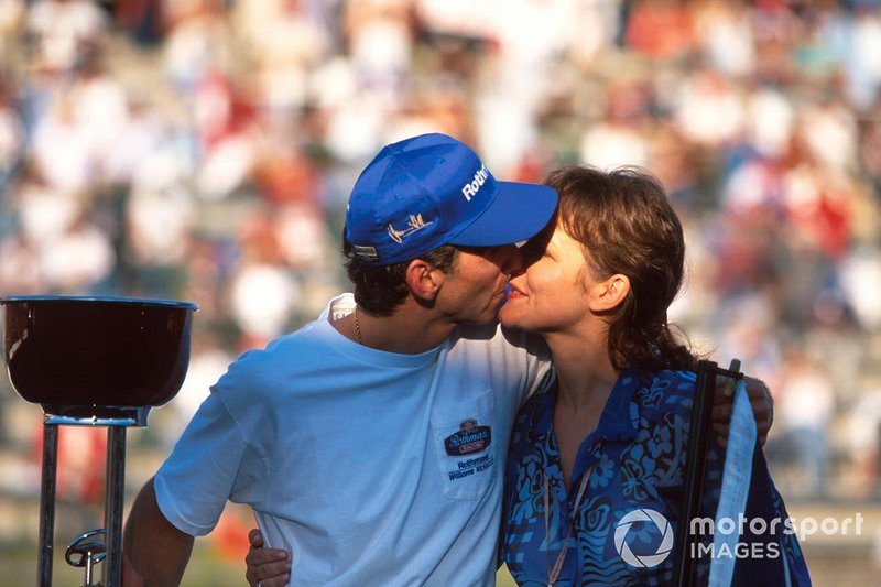Damon Hill and Georgie