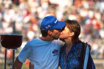 Damon Hill y Georgie