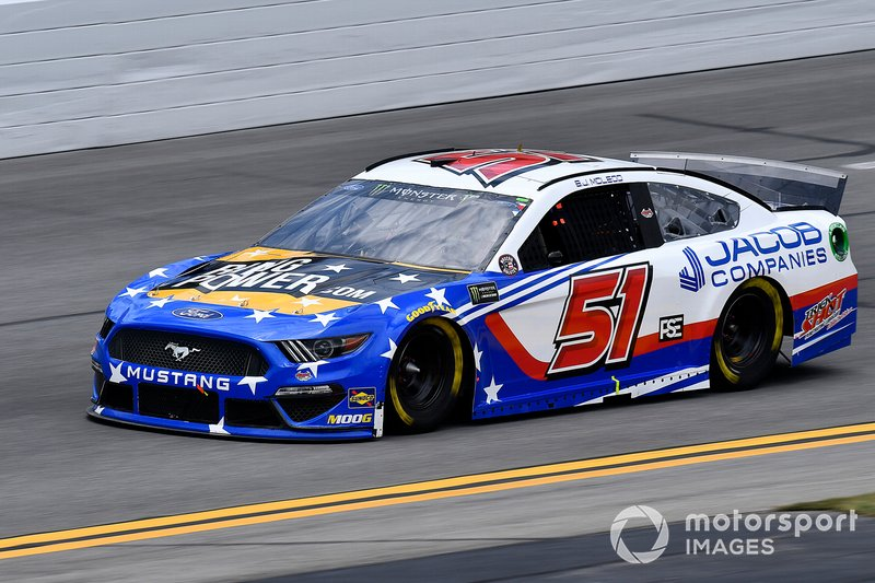 B.J. McLeod, Petty Ware Racing, Ford Mustang JACOB COMPANIES