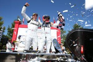 Race Winner #77 Mazda Team Joest Mazda DPi, DPi: Oliver Jarvis, Tristan Nunez