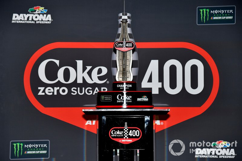 Coke Zero 400 trophy