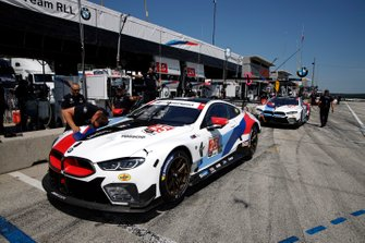 #25 BMW Team RLL BMW M8 GTE, GTLM: Tom Blomqvist, Connor De Phillippi, #24 BMW Team RLL BMW M8 GTE, GTLM: Jesse Krohn, John Edwards