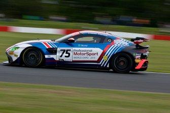 #75 Optimum Motorsport, Aston Martin V8 Vantage GT4, Patrik Matthiesen, Mike Robinson