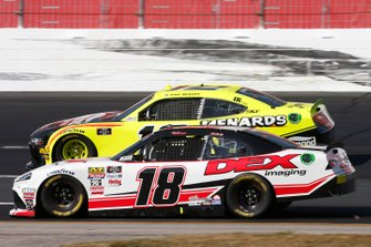 Harrison Burton, Joe Gibbs Racing, Toyota Supra Dex Imaging Paul Menard, Team Penske, Ford Mustang Menards/Richmond
