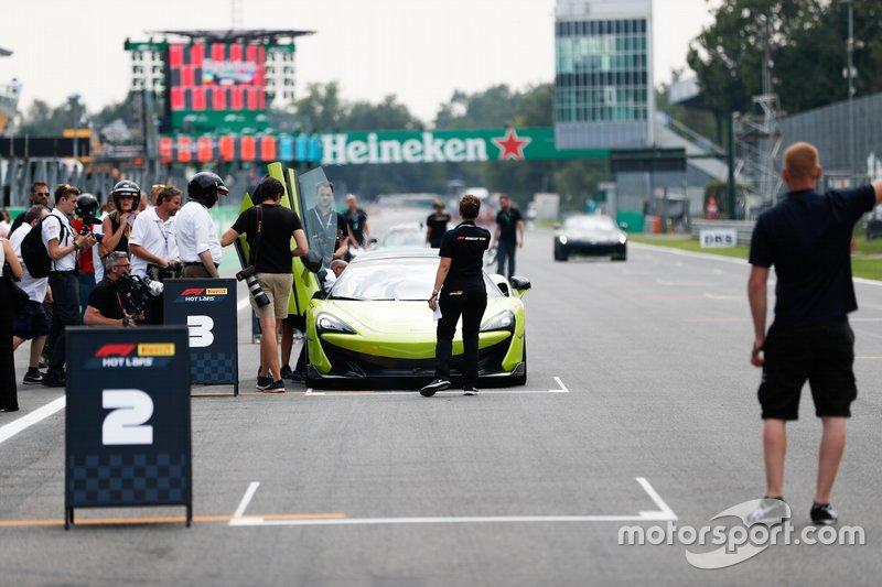 Pirelli Hot Lap con Lando Norris