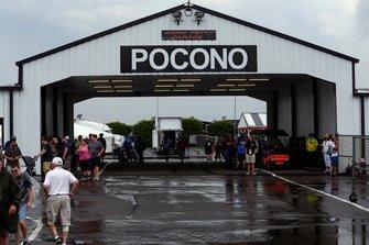 Rain in Pocono