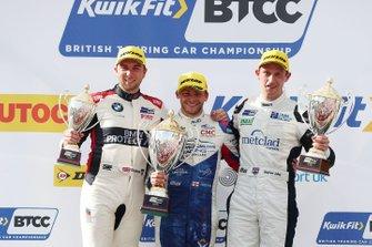 Podium: race winner Jake Hill, Trade Price Cars Audi