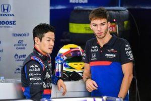 Naoki Yamamoto, Toro Rosso and Pierre Gasly, Toro Rosso