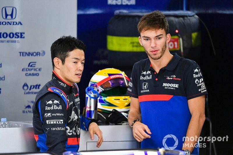 Naoki Yamamoto, Toro Rosso e Pierre Gasly, Toro Rosso