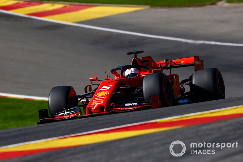 Vettel makes it an all-Ferrari front row