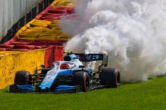 Robert Kubica, Williams FW42, motorplof
