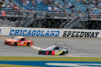 Alex Bowman, Hendrick Motorsports, Chevrolet Camaro Axalta Kyle Larson, Chip Ganassi Racing, Chevrolet Camaro McDonald's