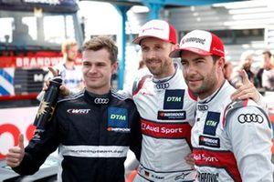 Pole para René Rast, Audi Sport Team Rosberg, segundo, Jonathan Aberdein, Audi Sport Team WRT, tercero, Mike Rockenfeller, Audi Sport Team Phoenix