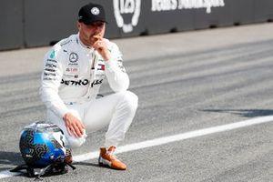 Third place Valtteri Bottas, Mercedes AMG W10