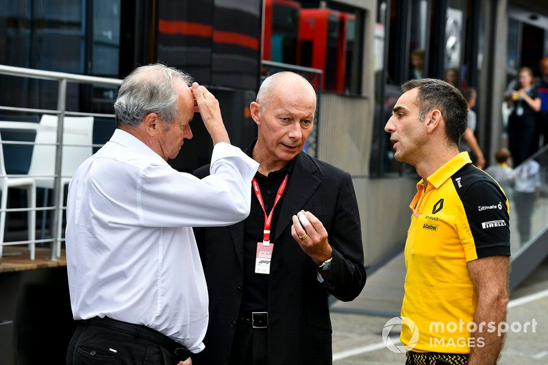 Cyril Abiteboul, Director Ejecutivo, Equipo Renault F1