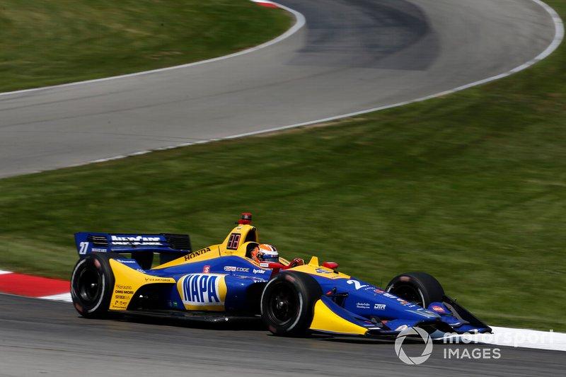 5. Alexander Rossi, Andretti Autosport Honda