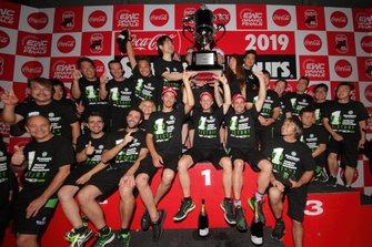 Race winners: #10 Kawasaki Racing Team: Jonathan Rea, Leon Haslam, Toprak Razgatlioglu